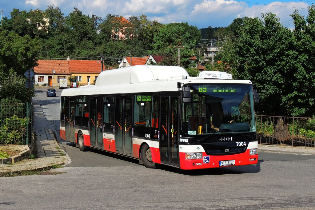 Fotogalerie » SOR NBG 12 9B7 9167 7004 | Brno | Bosonohy | U smyčky