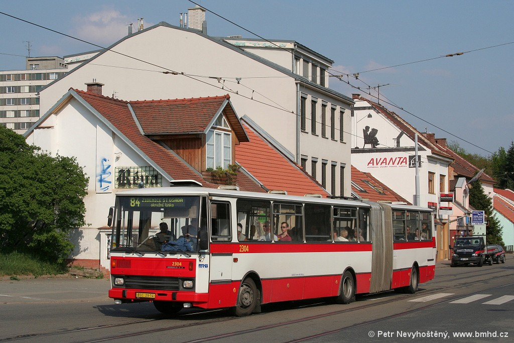 Fotogalerie » Karosa B741.1916 BSC 29-14 2304 | Brno | Žabovřesky | Rosického náměstí