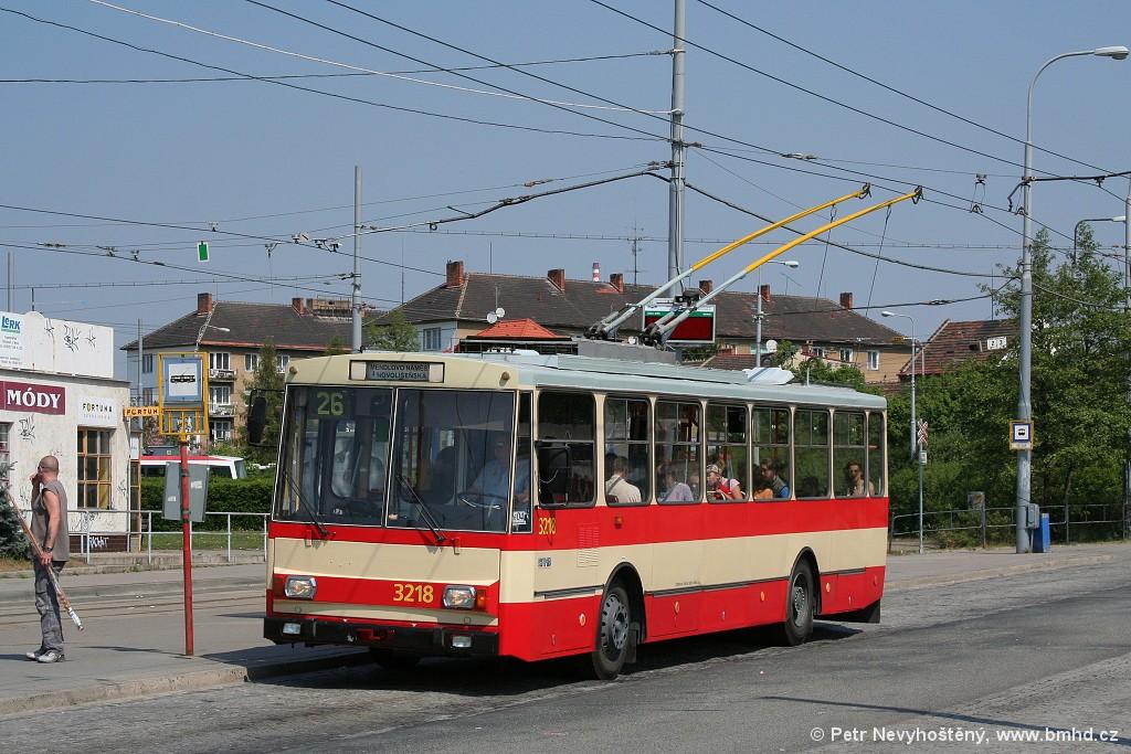 Fotogalerie » Škoda 14Tr08/6 3218 | Brno | Židenice | Stará Osada
