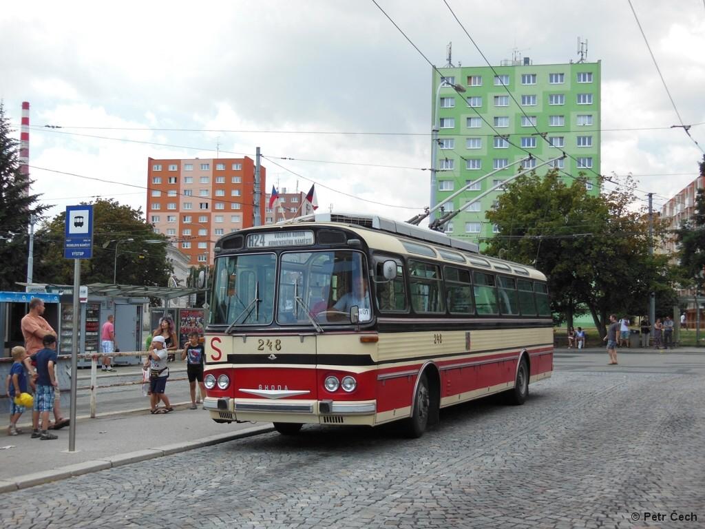 Fotogalerie » Škoda T11/0 248 | Brno | Staré Brno | Mendlovo náměstí | Mendlovo náměstí