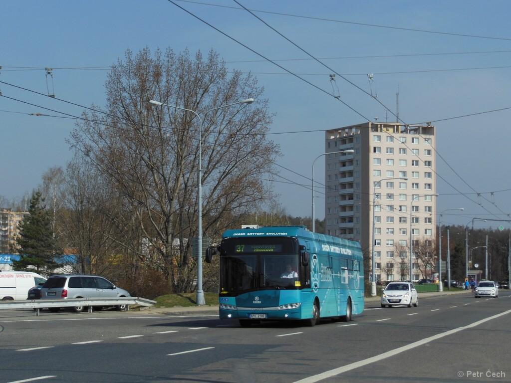 Fotogalerie » Škoda 26BB Perun 6P0 2180 | Brno | Kohoutovice | Libušina třída