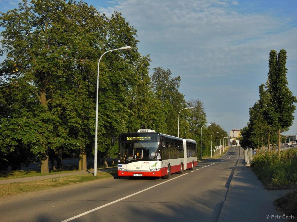 Fotogalerie » Solaris Urbino 18 III 9B7 9138 2629   Brno   Královo Pole   Kolejní