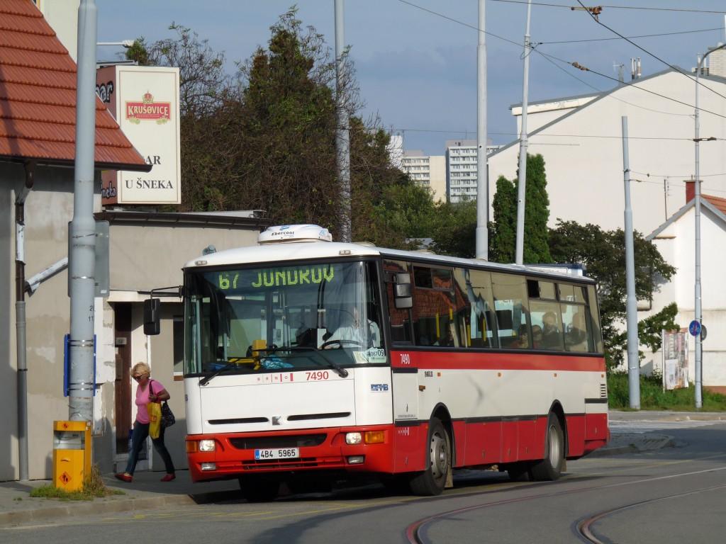 Fotogalerie » Karosa B951E.1713 4B4 5965 7490   Brno   Žabovřesky   Štursova   Rosického náměstí