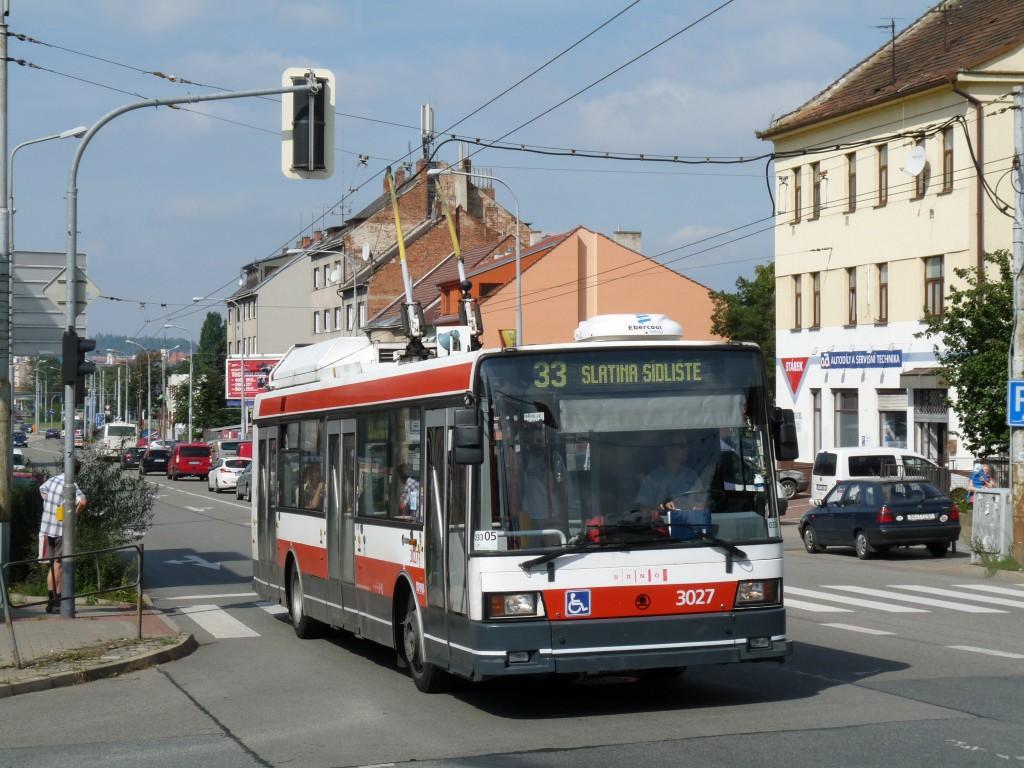 Fotogalerie » Škoda 21Tr 3027 | Brno | Černovice | Olomoucká