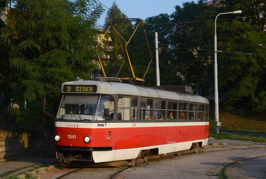 Fotogalerie » ČKD Tatra T3M 1541 | Brno | Židenice | Líšeňská | Juliánov