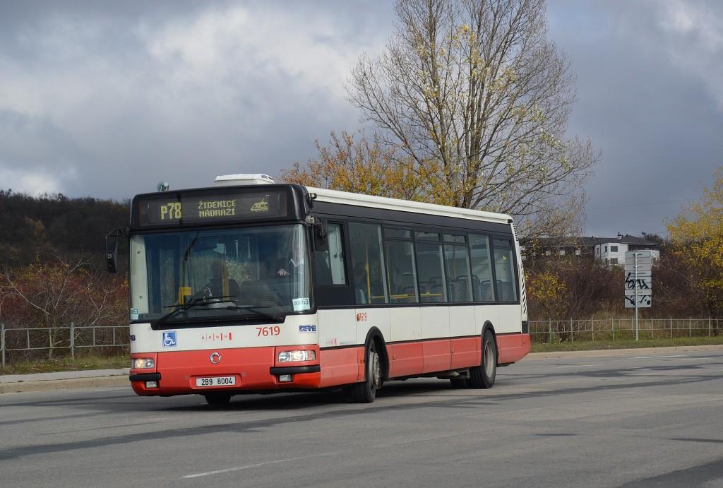 Fotogalerie » Irisbus Citybus 12M 2071.40 2B9 8004 7619 | Brno | Líšeň | Jedovnická