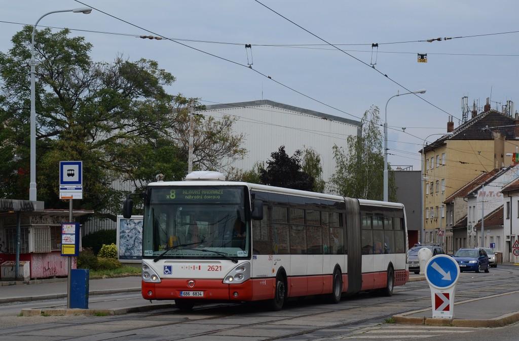 Fotogalerie » Irisbus Citelis 18M 6B6 6834 2621 | Brno | Židenice | Životského | Životského
