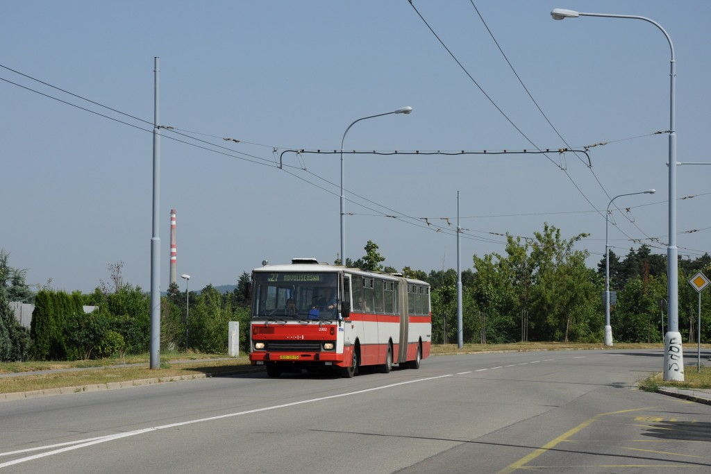 Fotogalerie » Karosa B741.1916 BSC 29-15 2302   Brno   Vinohrady   Věstonická   Mutěnická