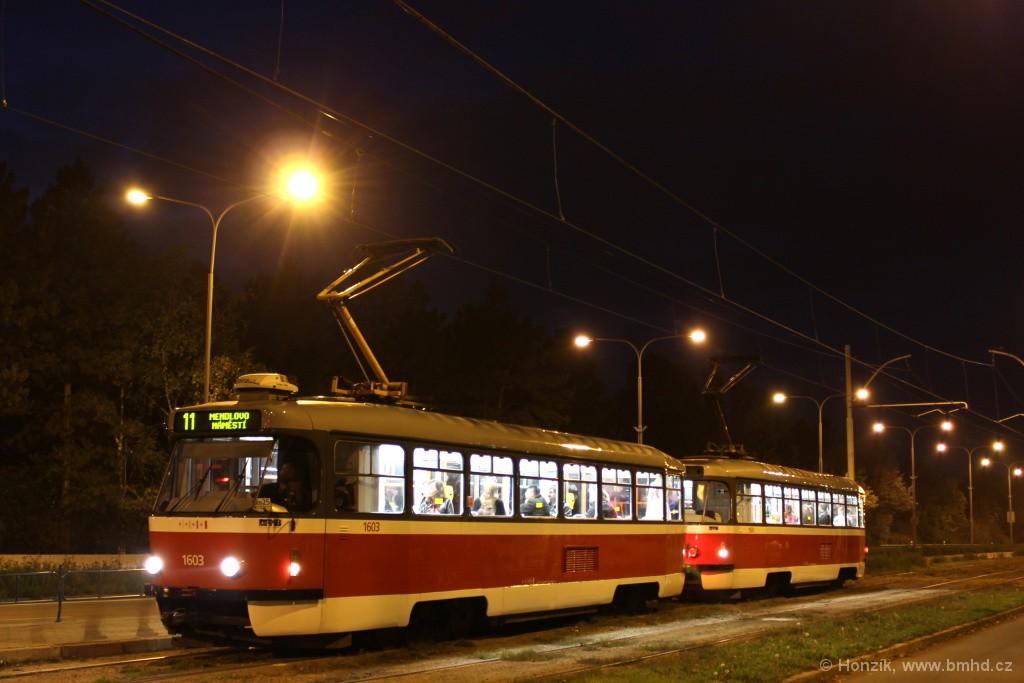 Fotogalerie » Pragoimex T3R.PV 1603 | Pragoimex T3R.PV 1561 | Brno | Černá Pole | třída Generála Píky | Lesnická