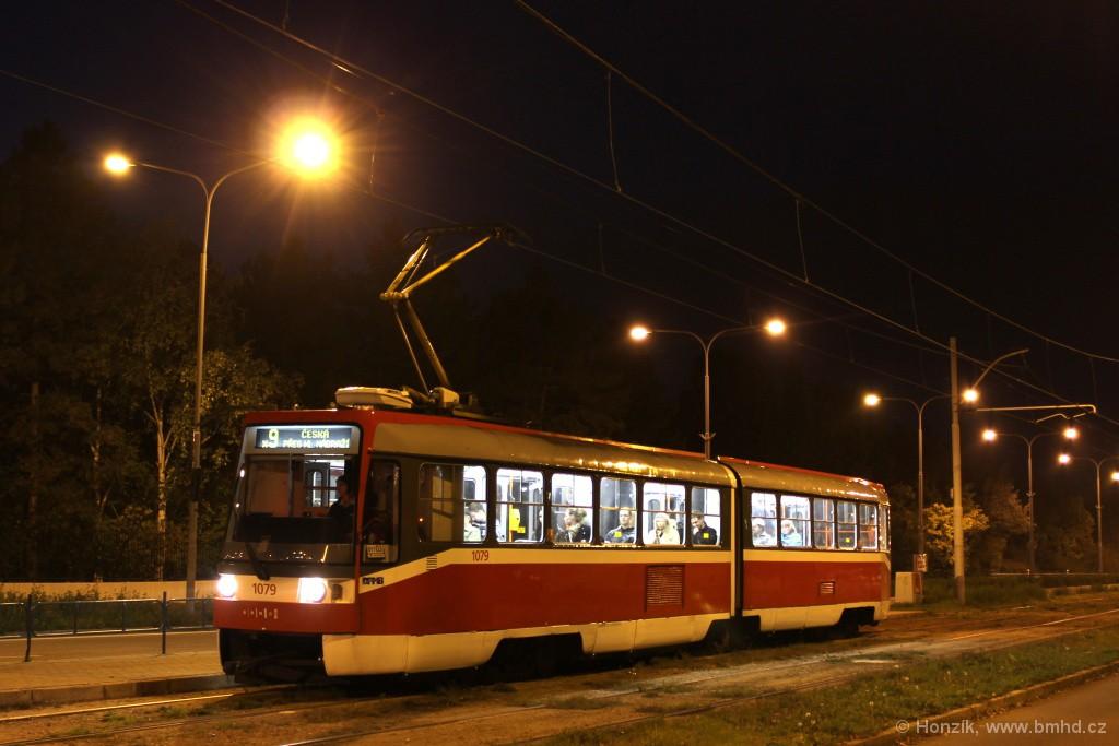 Fotogalerie » ČKD Tatra K2R03 1079 | Brno | Černá Pole | třída Generála Píky | Lesnická
