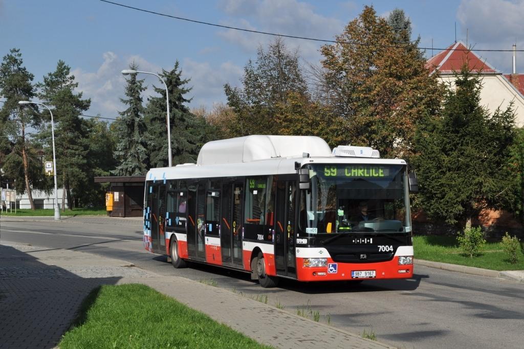 Fotogalerie » SOR NBG 12 9B7 9167 7004 | Brno | Chrlice | U Zbrojnice | Chrlické náměstí