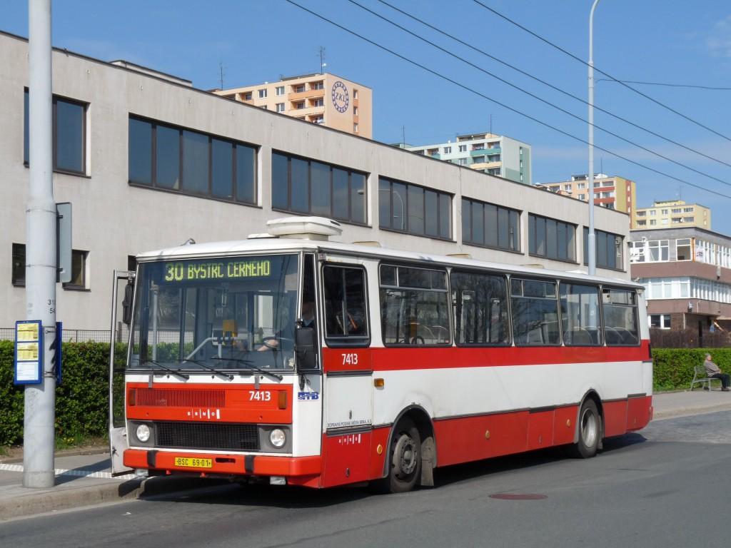 Fotogalerie » Karosa B731.1669 BSC 69-01 7413 | Brno | Královo Pole | Budovcova | Královo Pole, nádraží