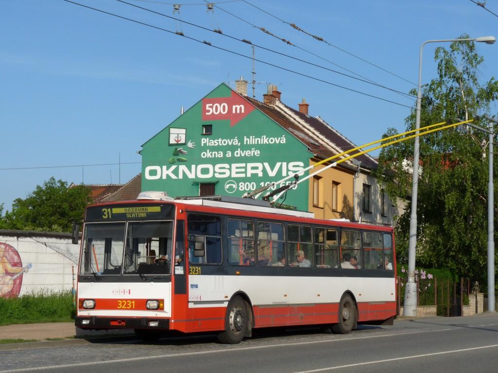 Fotogalerie » Škoda 14Tr08/6 3231 | Brno | Slatina | Řípská
