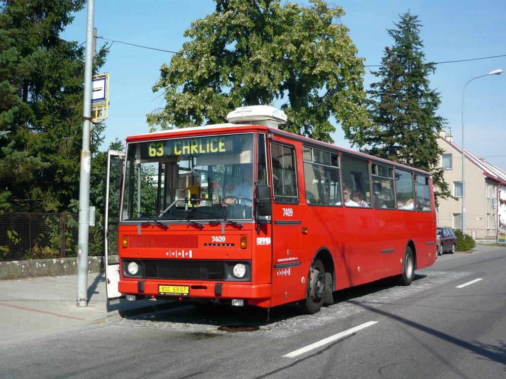 Fotogalerie » Karosa B731.1669 BSC 69-07 7409 | Brno | Holásky | V aleji | Prodloužená