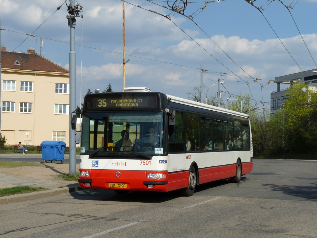 Fotogalerie » Irisbus Citybus 12M 2071.20 BZM 72-31 7601 | Brno | Masarykova čtvrť | Barvičova
