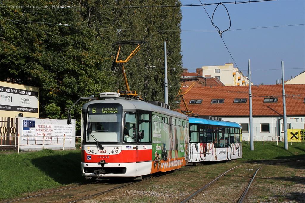 Fotogalerie » Pragoimex VarioLFR.E 1553   Pragoimex VarioLFR.E 1556   Brno   Štýřice   Vídeňská