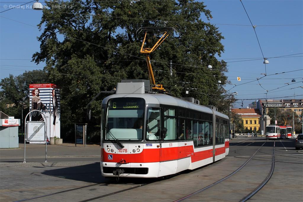 Fotogalerie » Pragoimex VarioLF2R.E 1078 | Brno | střed | Moravské náměstí