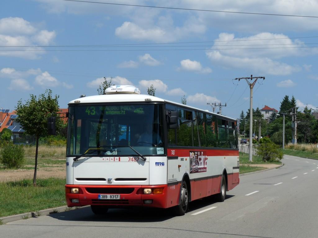 Fotogalerie » Karosa B951E.1713 3B9 8317 7487 | Brno | Soběšice | Útěchovská