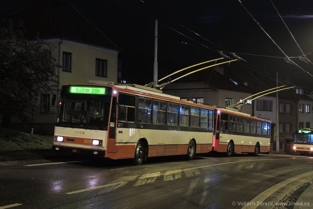 Fotogalerie » Škoda 14TrR 3277   Brno   Nový Lískovec   Rybnická