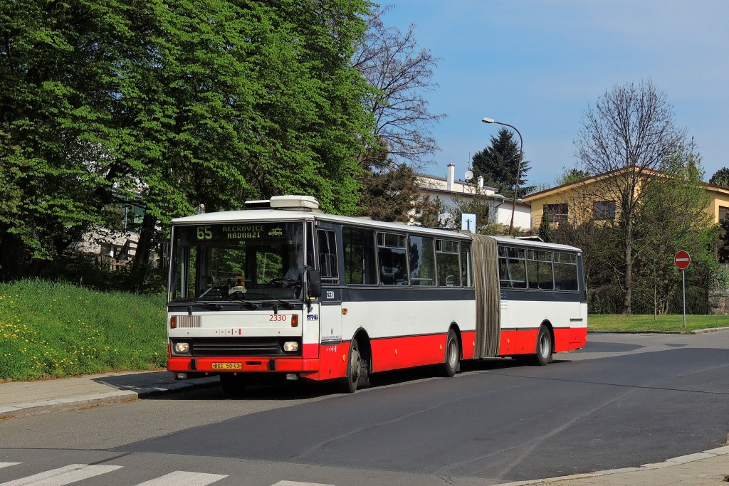 Fotogalerie » Karosa B741.1924 BSC 50-43 2330   Brno   Řečkovice   Palackého náměstí