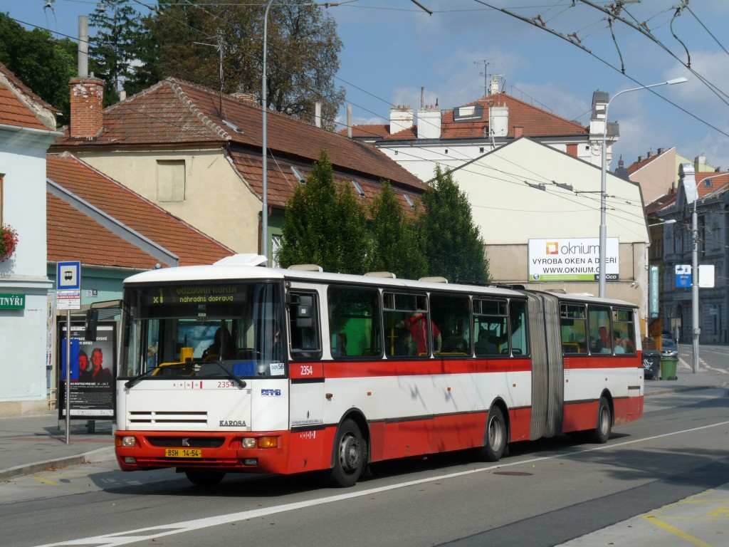 Fotogalerie » Karosa B941E.1962 BSH 14-54 2354 | Brno | Staré Brno | Hlinky