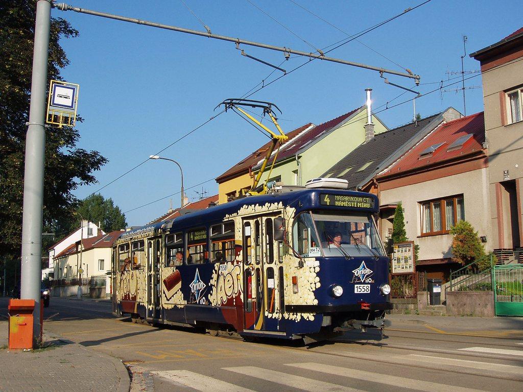 Fotogalerie » Pragoimex T3R.PV 1558 | Brno | Maloměřice | Obřanská | Obřanský most
