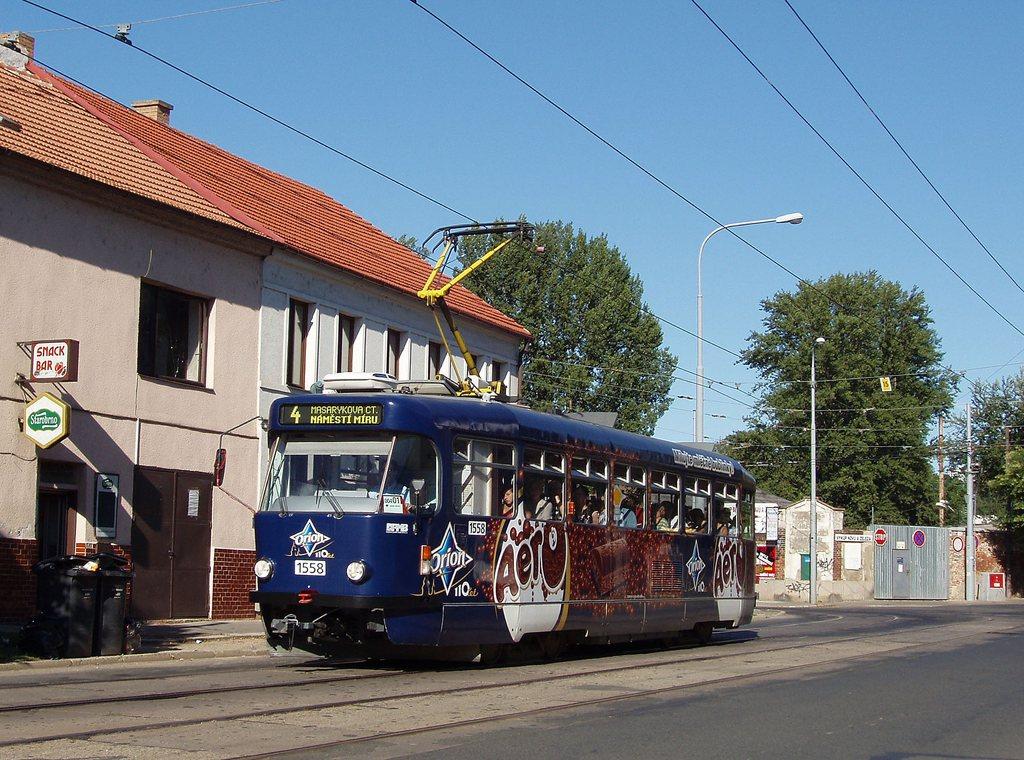 Fotogalerie » Pragoimex T3R.PV 1558 | Brno | Husovice | Dačického