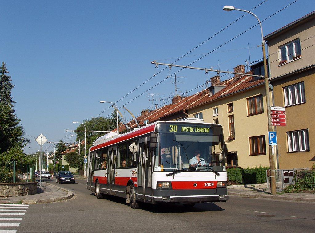 Fotogalerie » Škoda 21Tr 3009 | Brno | Žabovřesky | Kroftova