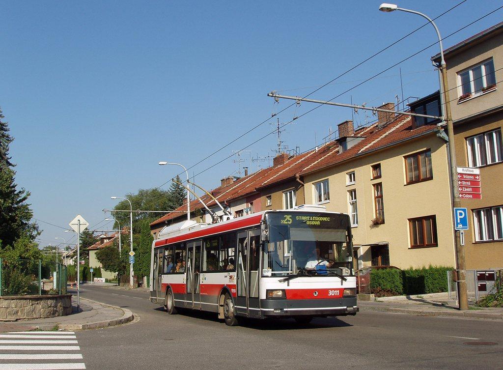 Fotogalerie » Škoda 21Tr 3011   Brno   Žabovřesky   Kroftova
