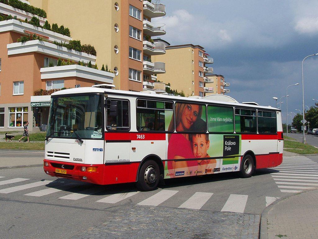 Fotogalerie » Karosa B931E.1707 7463 | Brno | Lesná | Okružní | Haškova