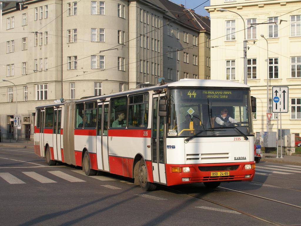 Fotogalerie » Karosa B941.1930 2335 | Brno | Staré Brno | Křížová