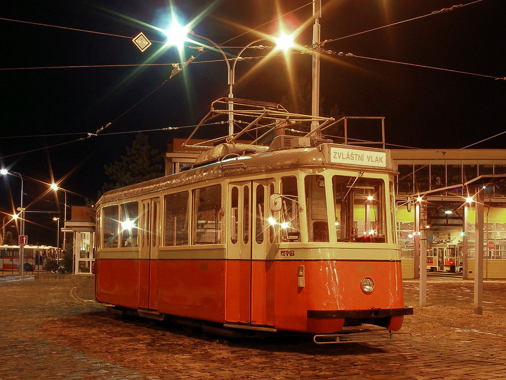 Fotogalerie » KPS Brno 4MT hist. DPMB 4058 | Brno | Pisárky | Vozovna Pisárky
