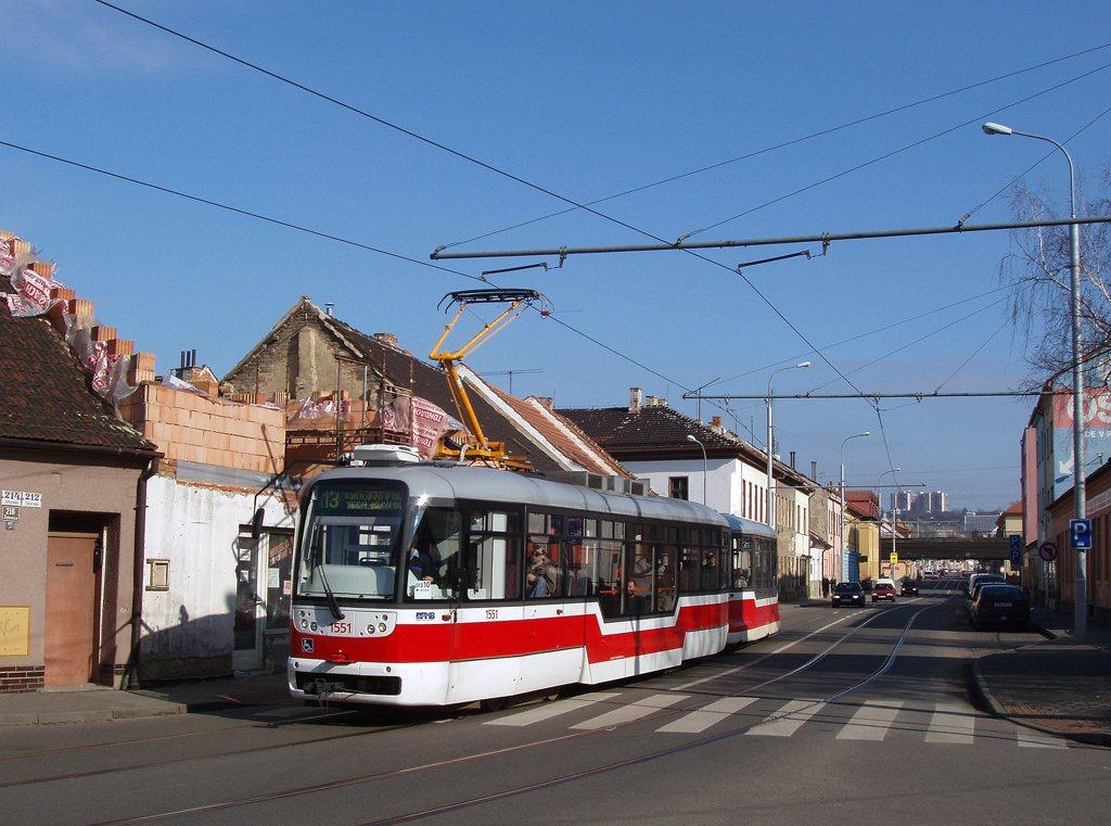 Fotogalerie » Pragoimex VarioLFR.E 1551   Pragoimex VV60LF 1302   Brno   Židenice   Táborská