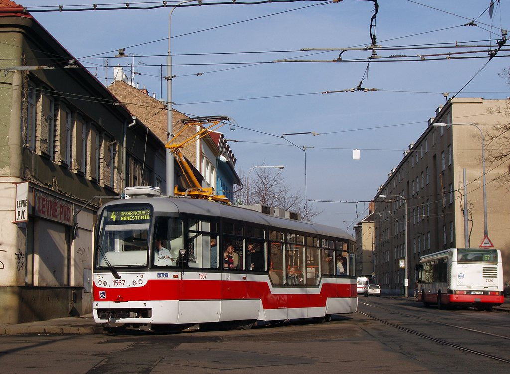 Fotogalerie » Pragoimex VarioLFR.E 1567 | Brno | Husovice | Nováčkova