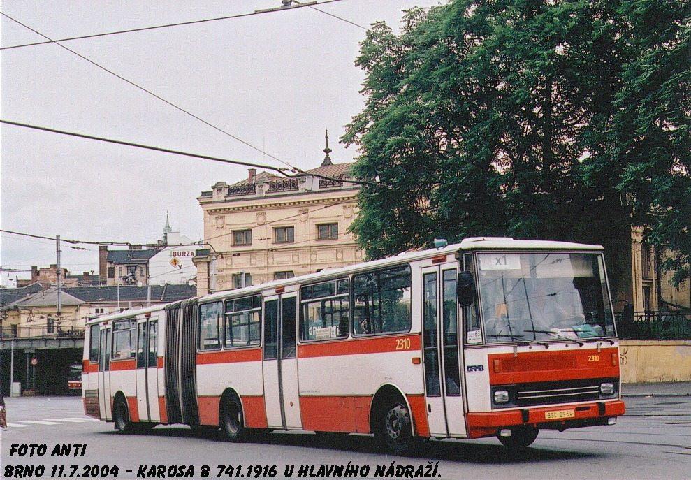 Fotogalerie » Karosa B741.1916 2310 | Brno | střed | Nádražní