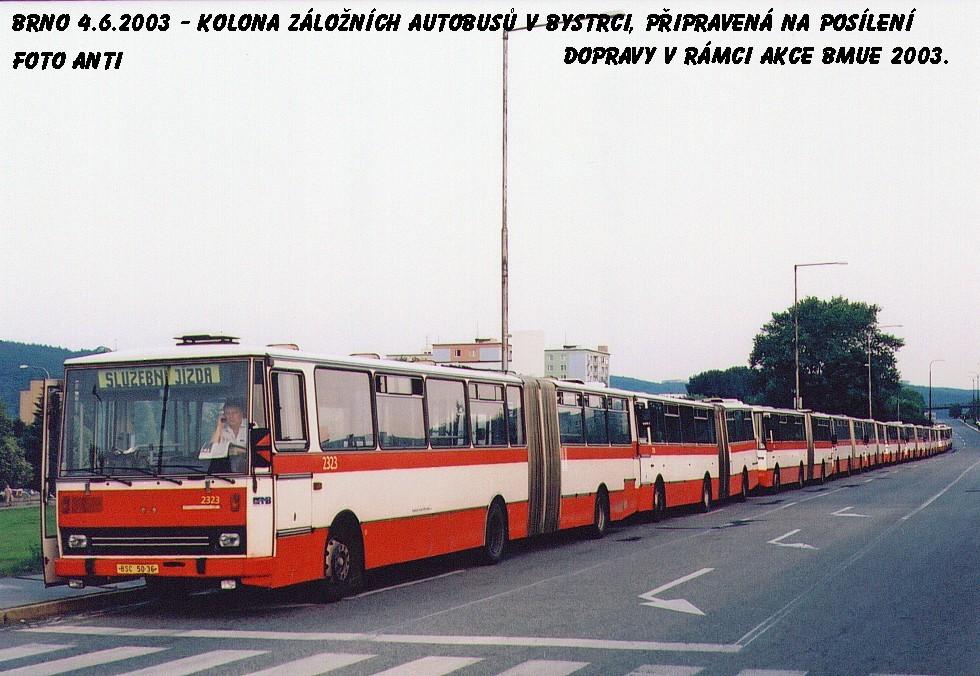 Fotogalerie » Karosa B741.1924 2323 | Brno | Bystrc | Stará Dálnice