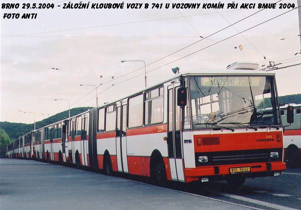 Fotogalerie » Karosa B741.1924 2329 | Brno | Komín | Veslařská