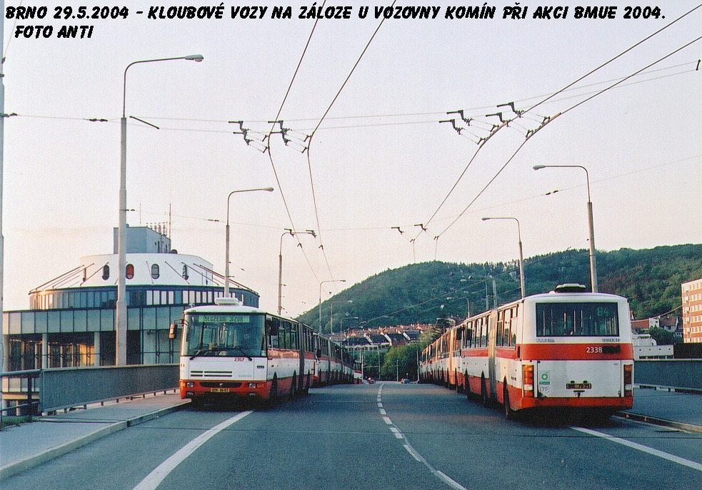 Fotogalerie » Karosa B941E.1962 2338 | Brno | Komín | Veslařská