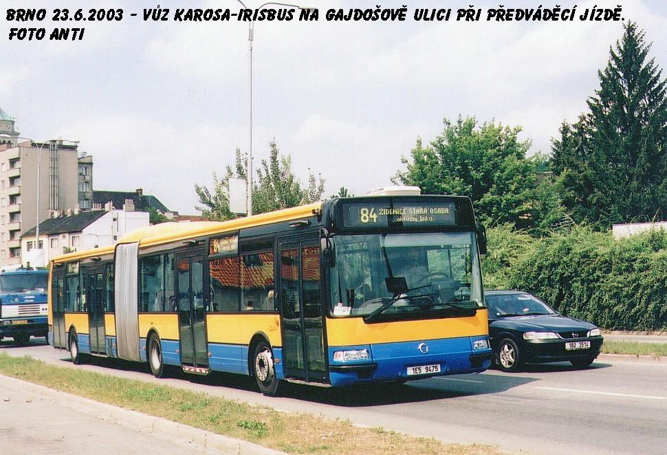 Fotogalerie » Irisbus Citybus 18M 1E5 94-75 | Brno | Židenice | Gajdošova