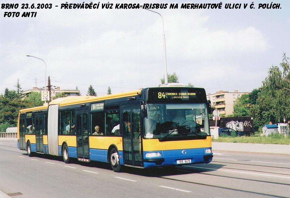 Fotogalerie » Irisbus Citybus 18M 1E5 94-75 | Brno | Černá Pole | Merhautova