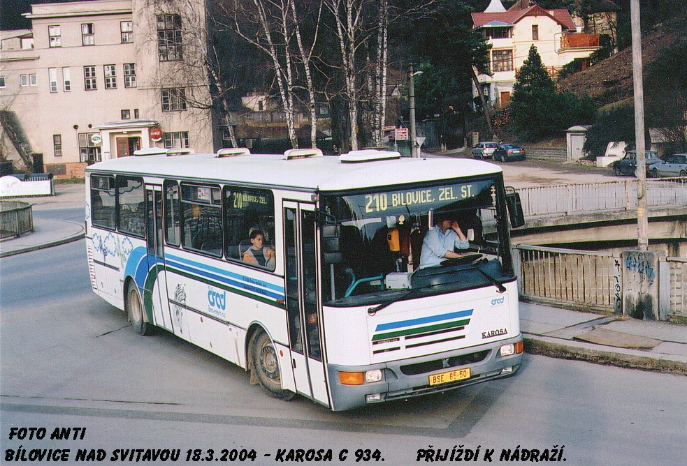 Fotogalerie » Karosa C934 BSE 65-50 | Bílovice nad Svitavou