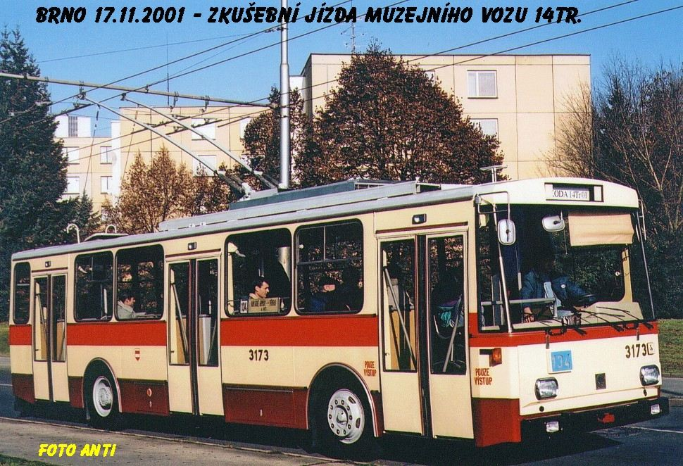 Fotogalerie » Škoda 14Tr01 3173 | Brno | Žabovřesky | Korejská