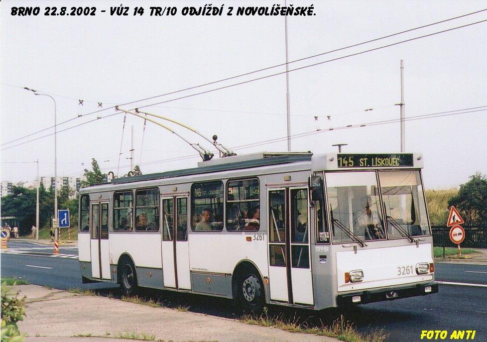 Fotogalerie » Škoda 14Tr14 3261 | Brno | Líšeň | Novolíšeňská