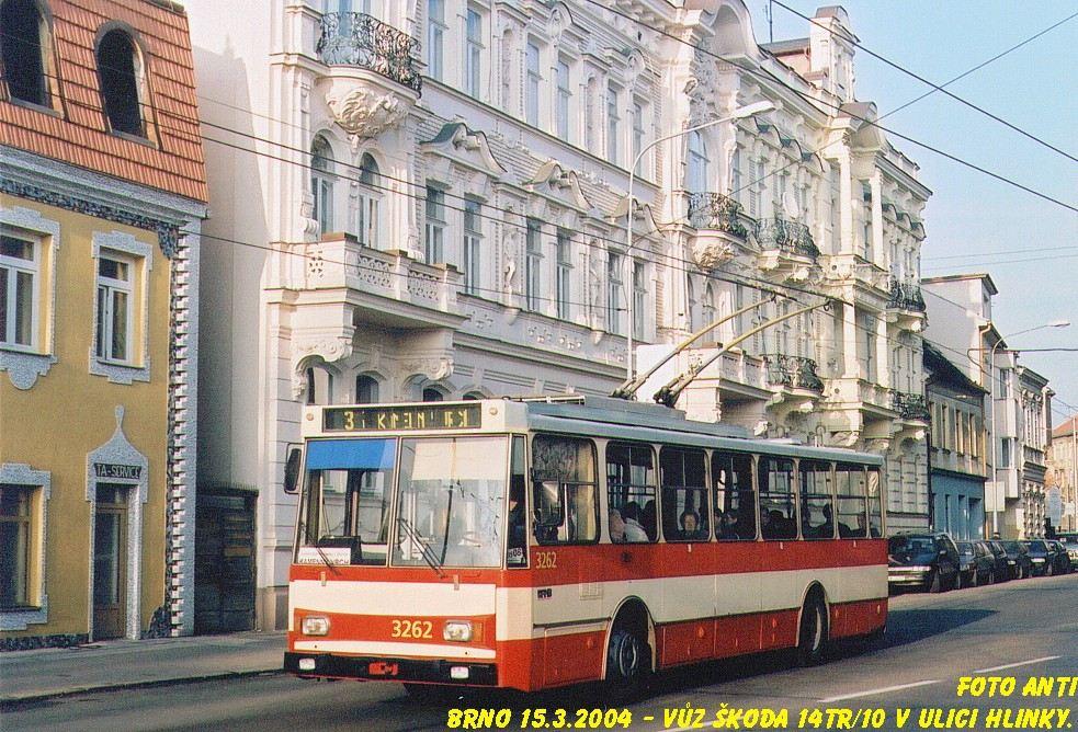 Fotogalerie » Škoda 14Tr14 3262 | Brno | Pisárky | Hlinky