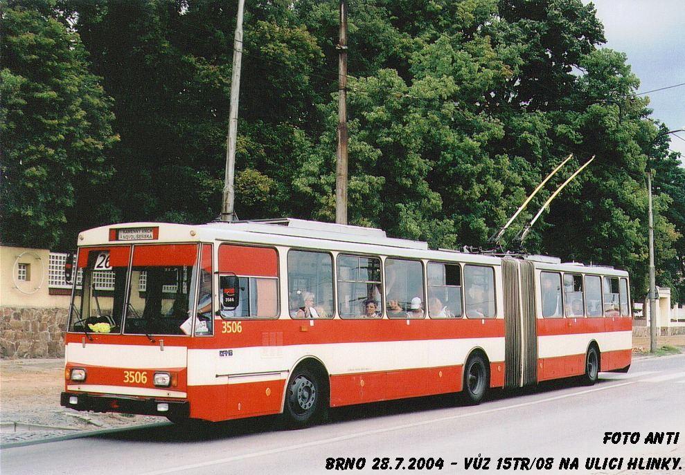 Fotogalerie » Škoda 15Tr08 3506 | Brno | Pisárky | Hlinky