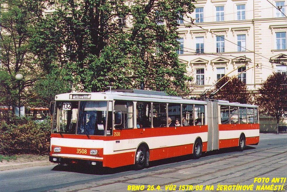 Fotogalerie » Škoda 15Tr08 3508 | Brno | střed | Žerotínovo náměstí