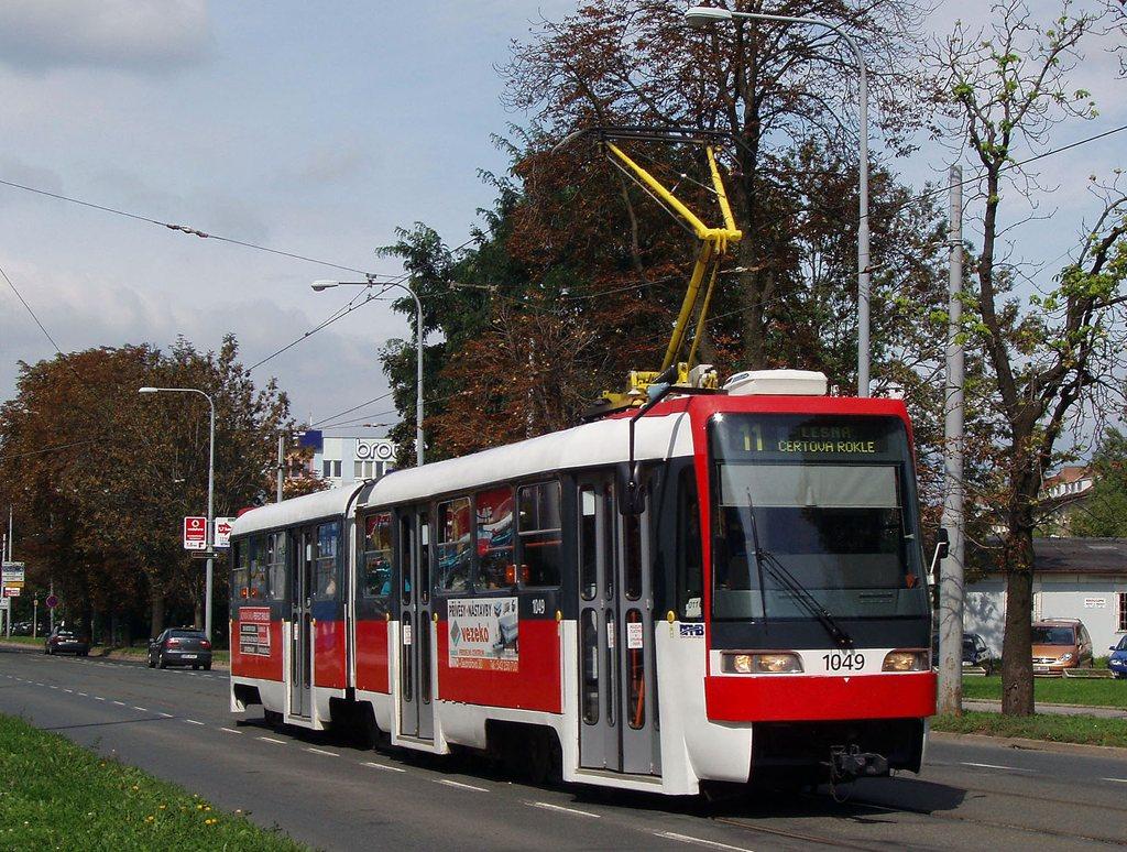 Fotogalerie » ČKD Tatra K2R03-P 1049 | Brno | střed | Veveří