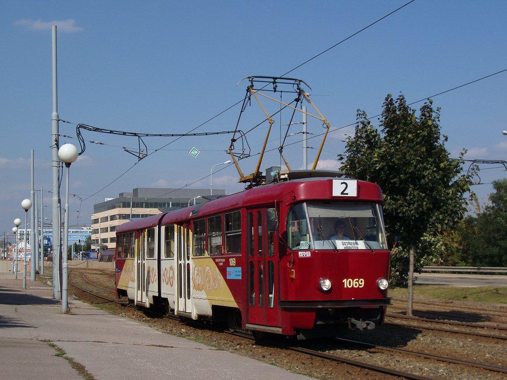 Fotogalerie » ČKD Tatra K2 1069   Brno   Štýřice   Vídeňská