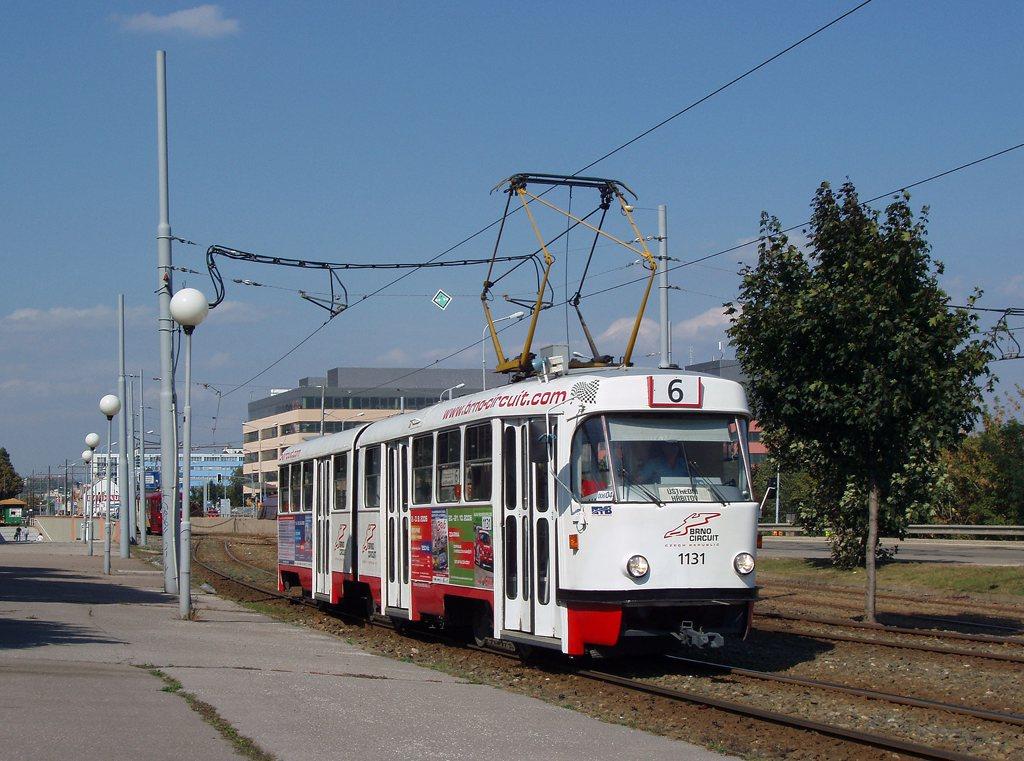 Fotogalerie » ČKD Tatra K2YU 1131 | Brno | Štýřice | Vídeňská