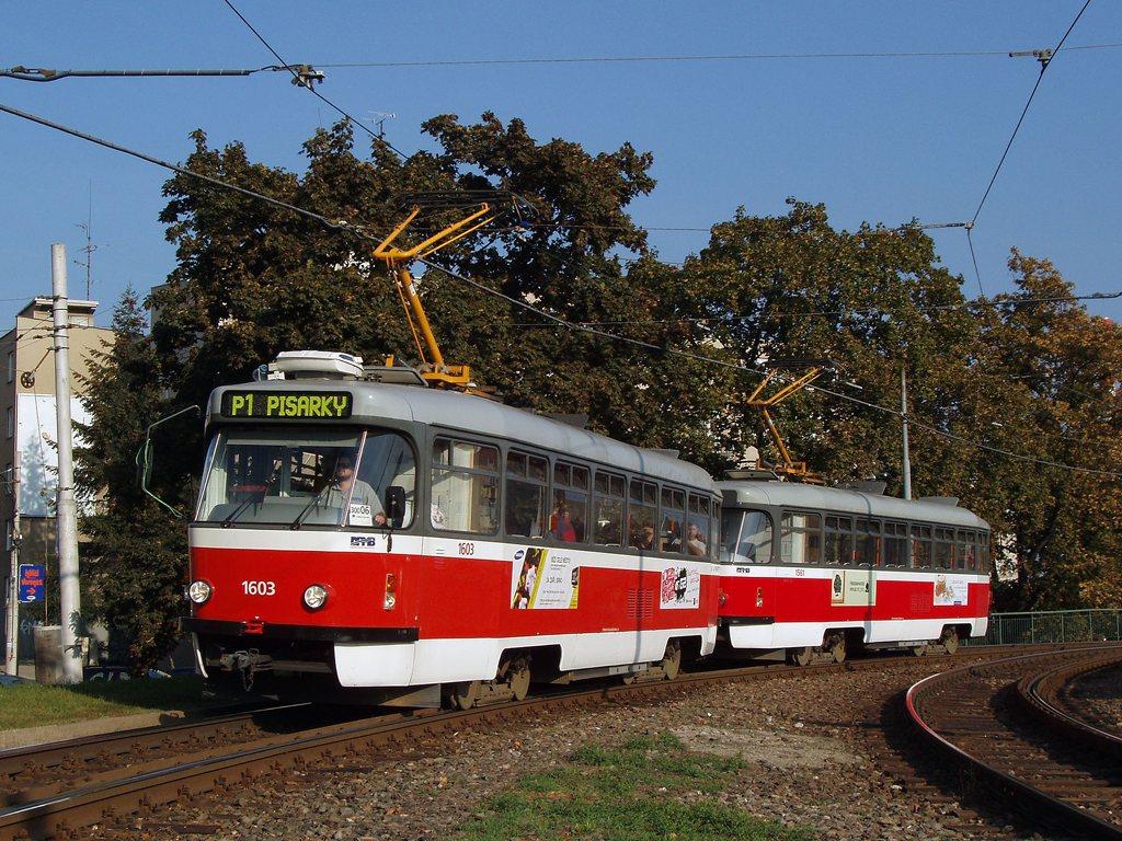 Fotogalerie » Pragoimex T3R.PV 1603 | Pragoimex T3R.PV 1561 | Brno | Staré Brno | Výstaviště